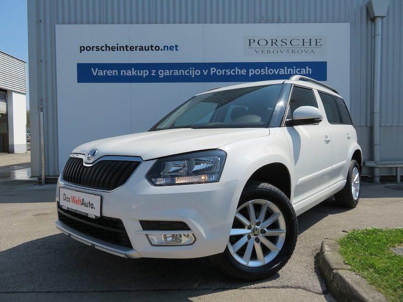 Škoda Yeti Ambition 2.0 TDI 4X4 Tovorni
