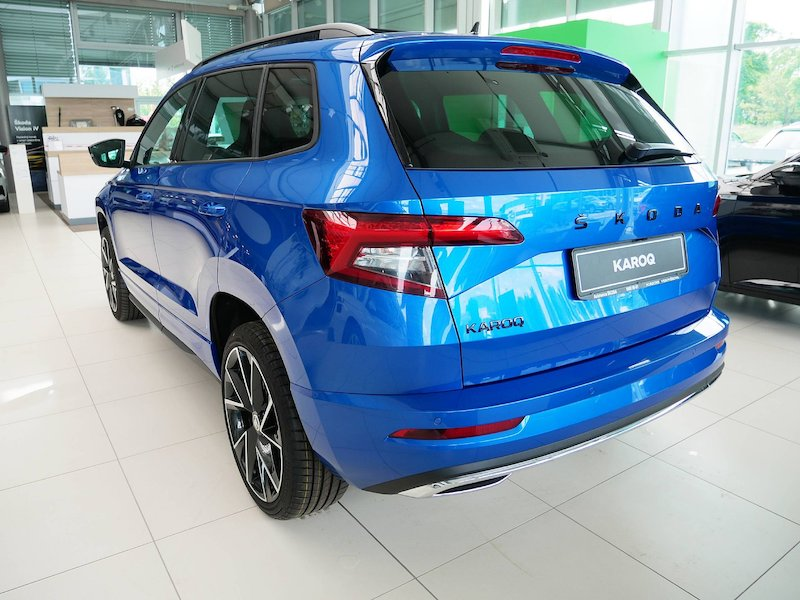 Škoda Karoq 1.5 TSI ACT Sportline DSG4