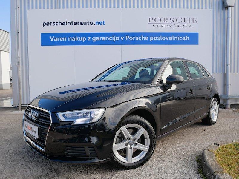 Audi A3 Sportback 1.6 TDI Basis S tronic - SLO