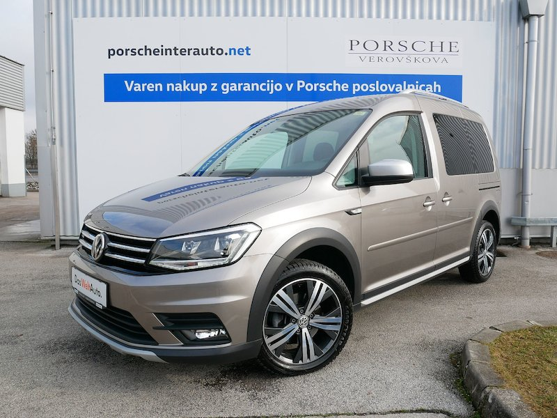 Volkswagen Caddy Alltrack 2.0 TDI - SLOVENSKO VOZILO