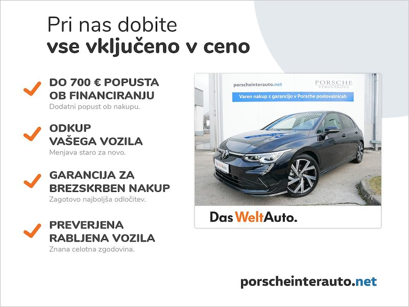 Volkswagen Golf 1.5 eTSI ACT R-Line DSG - NOVI MODEL - SLO2