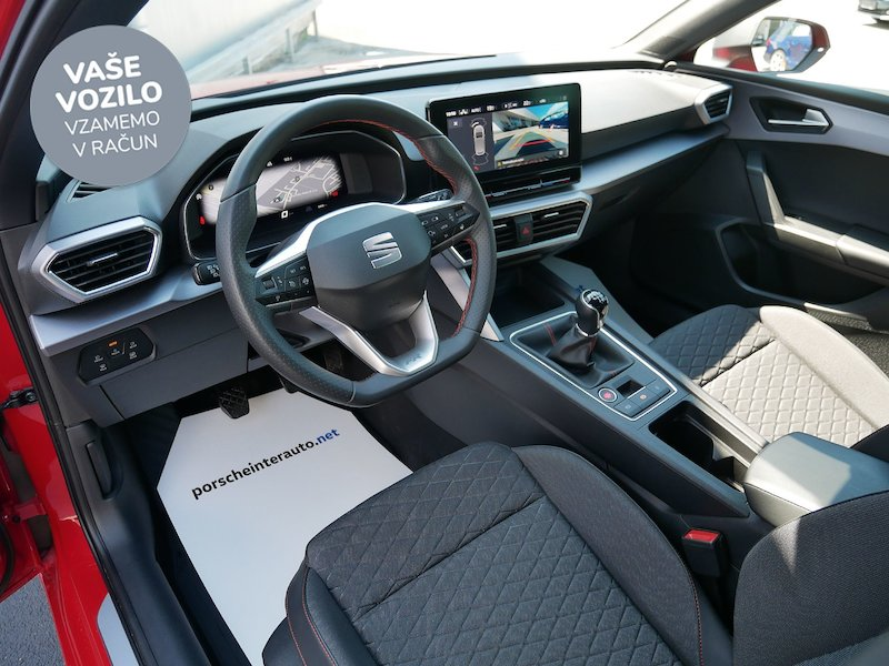 Seat Leon SP 1.5 TSI FR - NOVI MODEL - SLOVENSKO VOZILO11