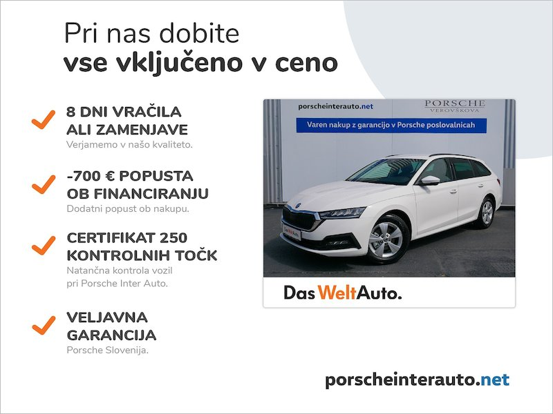 Škoda Octavia Combi 1.5 TSI Ambition - NOVI MODEL2