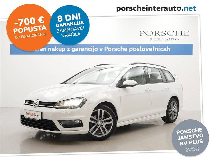 Volkswagen Golf Variant 1.6 TDI BMT R-line 40 let SLOVENSKO VOZILO