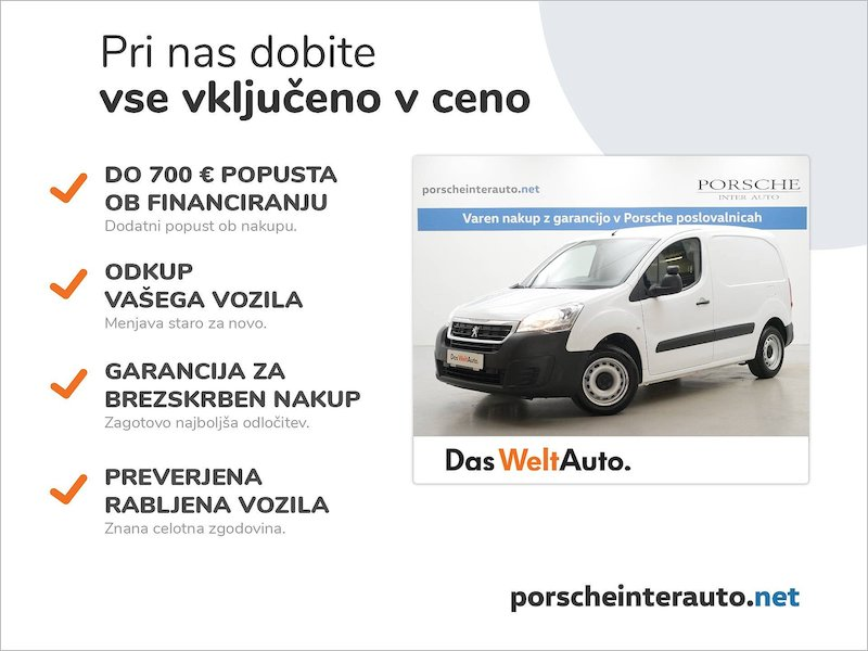 Peugeot Partner 1.6 BlueHDi 100 L1 Confort - SLOVENSKO VOZILO2
