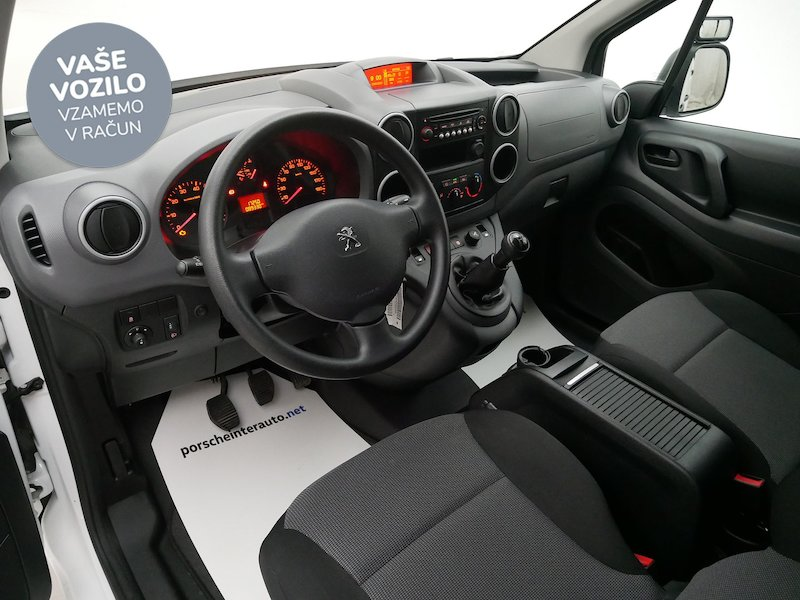 Peugeot Partner 1.6 BlueHDi 100 L1 Confort - SLOVENSKO VOZILO12