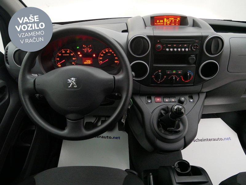 Peugeot Partner 1.6 BlueHDi 100 L1 Confort - SLOVENSKO VOZILO15