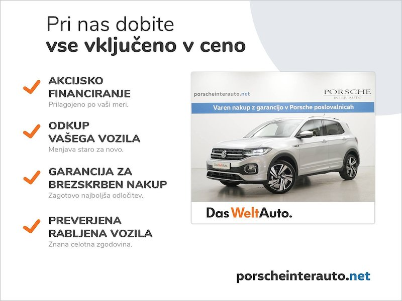 Volkswagen T-Cross 1.0 TSI BMT Style DSG - SLOVENSKO VOZILO2
