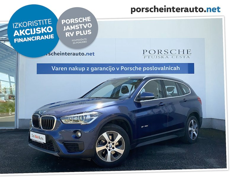 BMW serija X1 sDrive16d Advantage - SLOVENSKO VOZILO
