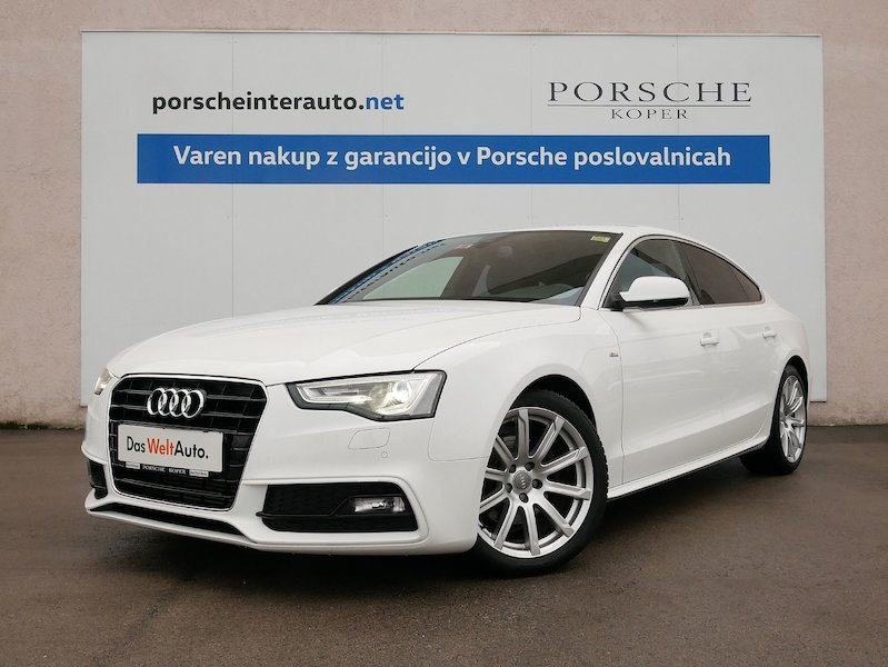 Audi A5 Sportback 2.0 TDI Business Sport-SLOVENSKO VOZILO1