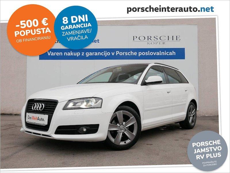 Audi A3 SB Attraction 1.6 TDI COMFORT EDITION - SLOVENSKO