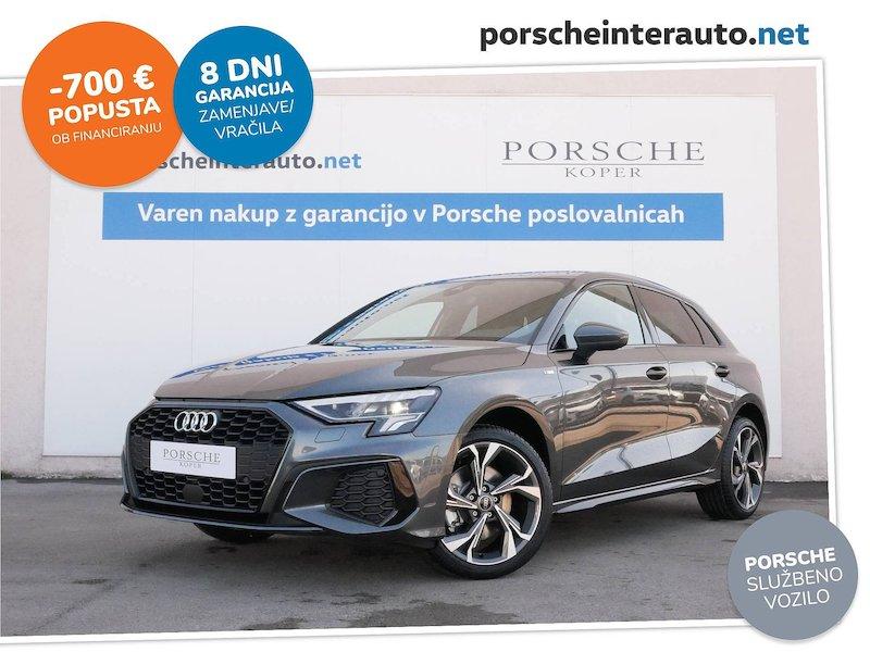 Audi A3 Sportback 30 TFSI S line - SLOVENSKO VOZILO