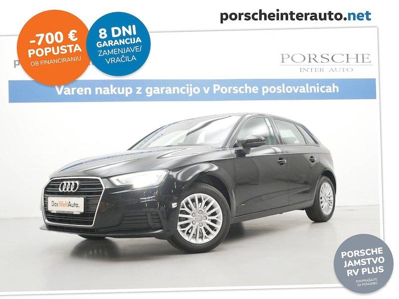 Audi A3 Sportback 1.6 TDI - NAVIGACIJA. PARK SENZORJI