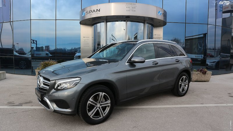 Mercedes-Benz GLC-Razred GLC 250 d 4MATIC Exclusive Avt. NAVI+AMG NOTRANJE