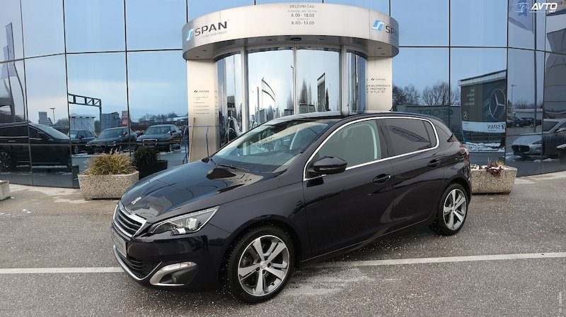 Peugeot 308 2.0 BlueHDi Allure Avt. +FULL LED+NAVIGACIJA ITD..