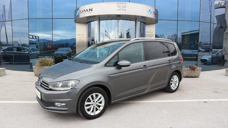 Volkswagen Touran 1.6 TDI BMT Comfortline +ACC+NAVI+KAMERA ITD...