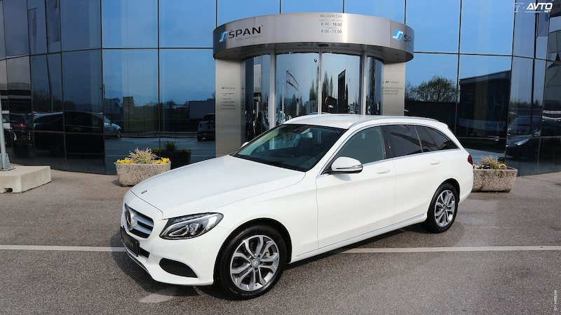 Mercedes-Benz C-Razred C 220 d T Avantgarde AUT +DISTRONIC +NAVI +LED ITD
