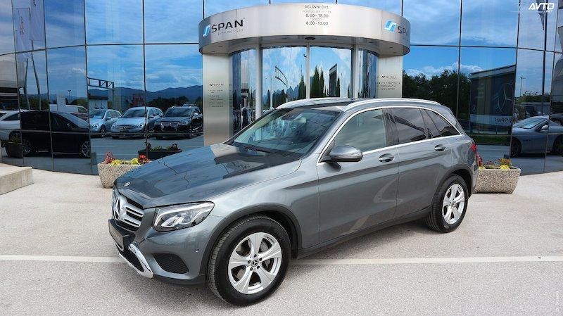 Mercedes-Benz GLC-Razred GLC 220 d 4MATIC Exclusive Avt.