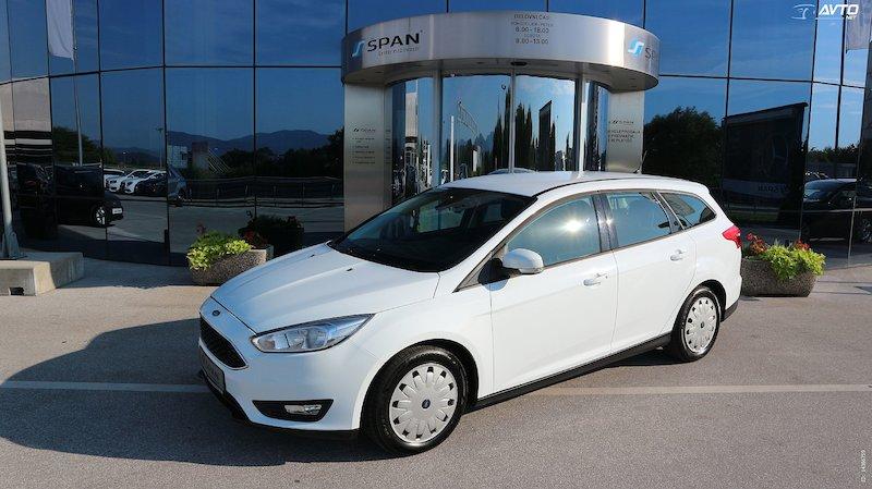 Ford Focus Karavan 1.5 TDCi ECOnetic EXECUTIVE +NAVI 2X KLIMA