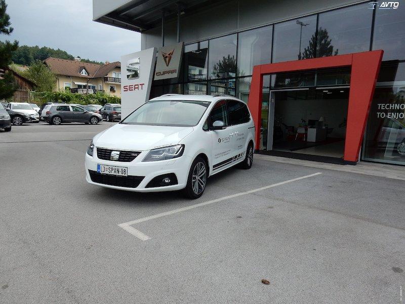 Seat Alhambra 2.0 TDI Xcellence Siete Start Stop DSG