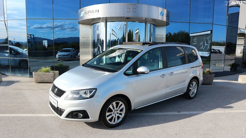 Seat Alhambra 4motion 2.0 TDI CR Style Start Stop +XENON+PANORAM