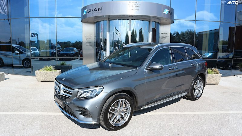 Mercedes-Benz GLC-Razred GLC 250 d 4MATIC AMG Line Avt. +LED+NAVI+ALKANTARA