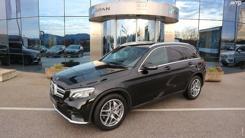 Mercedes-Benz GLC-Razred GLC 220 d 4MATIC AMG Line Avt. +DISTRONIC+COMAND