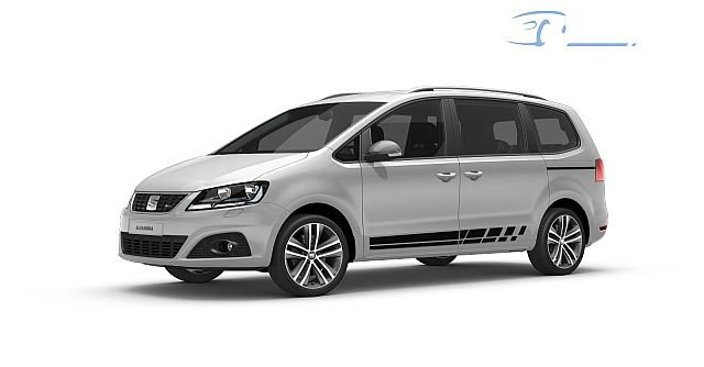 Seat Alhambra 2.0 TDI Ecomotive Xcellence Siete