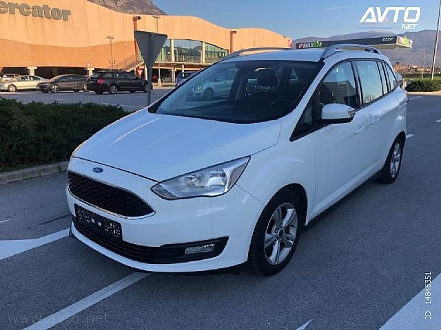 Grand C-Max, 1.5 TDCi Business. NAVI. PDC. 7 SEDEŽEV