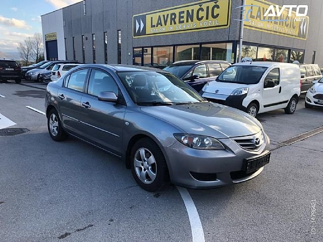 Mazda3, Sport 1.6i. 1. LASTNIK. SLO. POREKLO