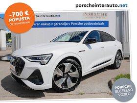 Audi e-tron Sportback 55 quattro S line - SLO