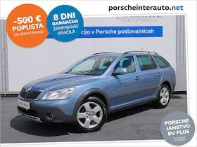 Škoda Octavia Combi 4x4 2.0 TDI CR DPF Scout - SLOVENSKO VOZILO